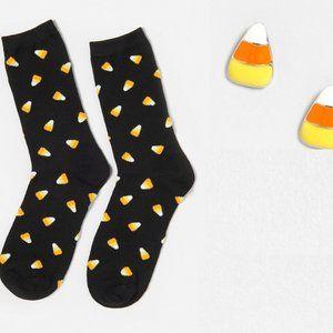 Jewelry - Candy corn Earrings & Sock Bundle